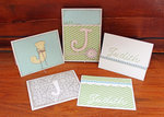 Monogrammed Stationary Set