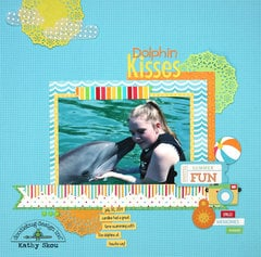 *** Doodlebug Design *** Dolphin Kisses
