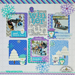 *** Doodlebug Design *** Winter Fun