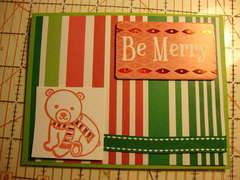 Be Merry--Xmas Card