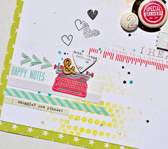 Happy Notes *Chic Tags*