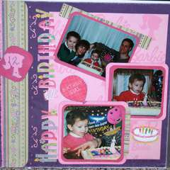 Nicole's 2nd birthday page 1
