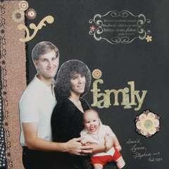 Family Portrait page 1
