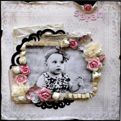 Sarah - C'est Magnifique Dec Kit featuring Pion Designs Silent Night