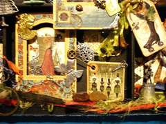 Curiosity Shop Shadow Box