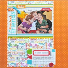 3 Preschool Friends