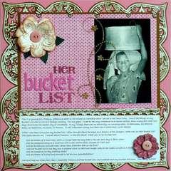 Her Bucket List
