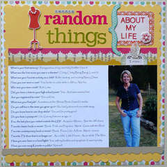 Twenty Random Things (About My Life)