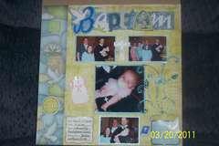 Emmalee's Baptism