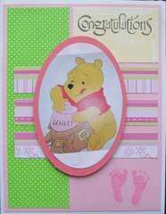 Baby Pooh Card