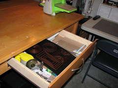 12 island drawer