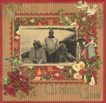 Christmas Cheer  ... 12x12 Card
