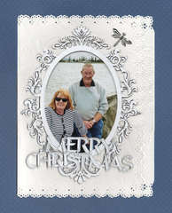 Merry Christmas.......my first card