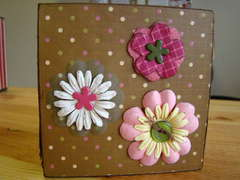Kaiser Craft Photo Cube