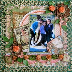 ONCE UPON A SPRINGTIME ~~MY CREATIVE SCRAPBOOK~~