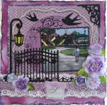 SPRING  ---   MY CREATIVE SCRAPBOOK--