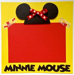 Minnie Mouse Page (Disney Gift Album)
