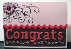 Congrats - Baby shower card