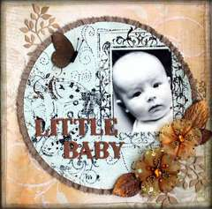 Little Baby ****SCRAP THAT July kit***