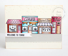 Welceom to town *Sweet Stamp Shop*