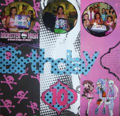 Monster High Birthday 10-Page 1