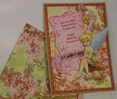Tinker Bell Birthday Card