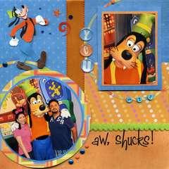 Goofy Left Page