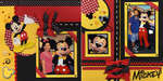 Mickey Red, Black & Yellow Spread