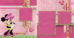 Minnie Pink & Green Spread