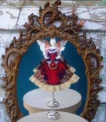 Steampunk Hybrid Valentine Paper Doll