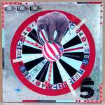 Circus Carnival Elephant Magnetic Dart Board