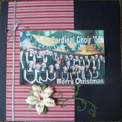 choir (left)