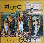 pluto & goofy