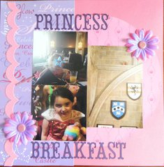 princess breakfast