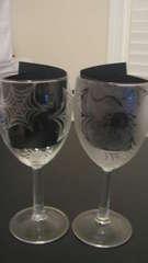 Spider Web Wine glasses