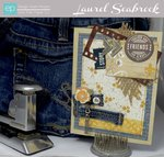 Denim Friends card