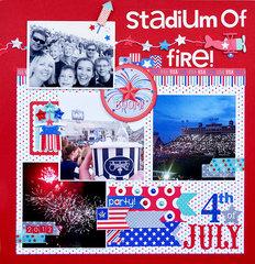 Stadium of Fire | Doodlebug Design