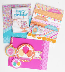 Sugar Shoppe card collection | Doodlebug Design