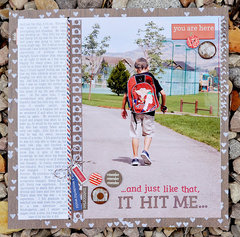 it hit me | lily bee design