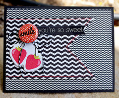 smile, you're so sweet card   lily bee design