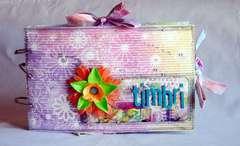 A folder for rubber stamps   *** SHIMMERZ ***