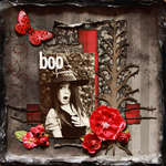 Boo ~Punky Scraps and Dusty Attic~