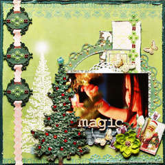 Magic ~Dusty Attic & Websters Pages~