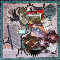 School of Steampunk ~Scraps of Darkness & Dusty Attic~