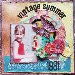 Vintage Summer 1981 ~Scraps of Darkness & Punky Scraps~