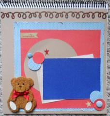 Baby calendar cover