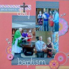 Beautiful day-baptism