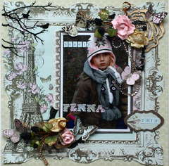 Fenna **NEW Kaisercraft Bonjour Collection**