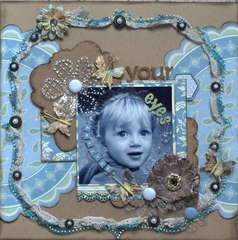 Your Amazing Eyes *Nikki Sivils & Clear Scraps*