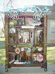 Altered Tim Holtz Frame box